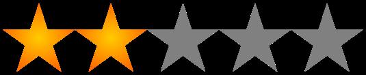 Valoración 2 estrellas
