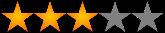 Valoración 3 estrellas