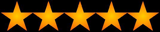 Valoración 5 estrellas