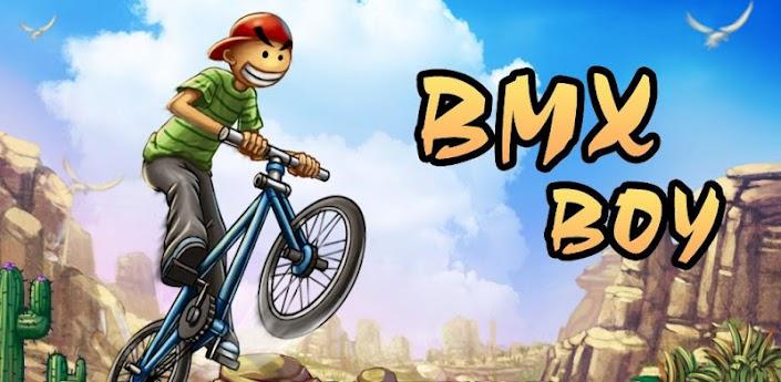 Imagen baner del juego BMX Boy