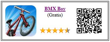Ficha del juego BMX boy