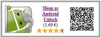 Ficha del servicio Sleep as Android Unlock