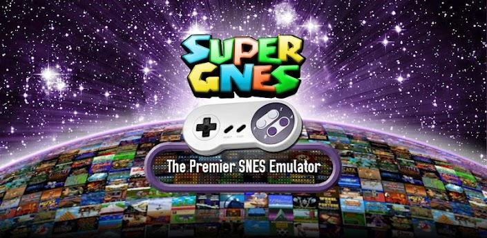 Imagen baner de la aplicacion de juego SuperGNES