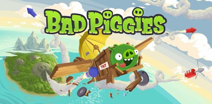 Imagen baner de la aplicacion de juego Bad Piggies