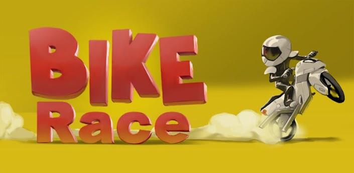 Imagen baner de la aplicacion de juego Bike Race Free