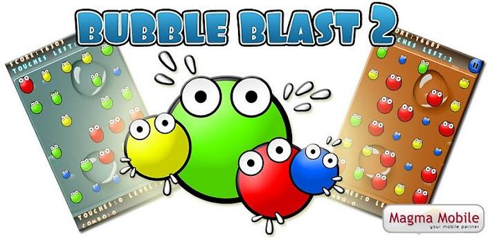 Imagen baner de la aplicacion de juego bubble blast 2