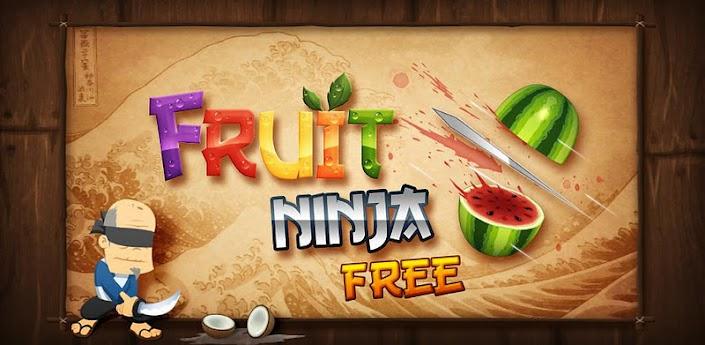 Imagen baner de la aplicacion de juego fruit ninja