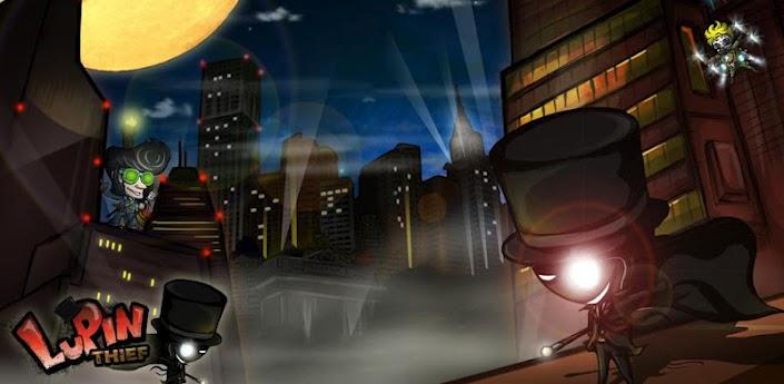 Imagen baner de la aplicacion de juego Lupin Thief