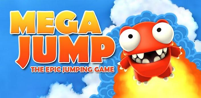 Imagen baner de la aplicacion de juego mega jump