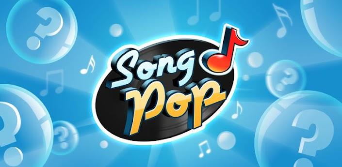 Imagen baner de la aplicacion de juego Song Pop