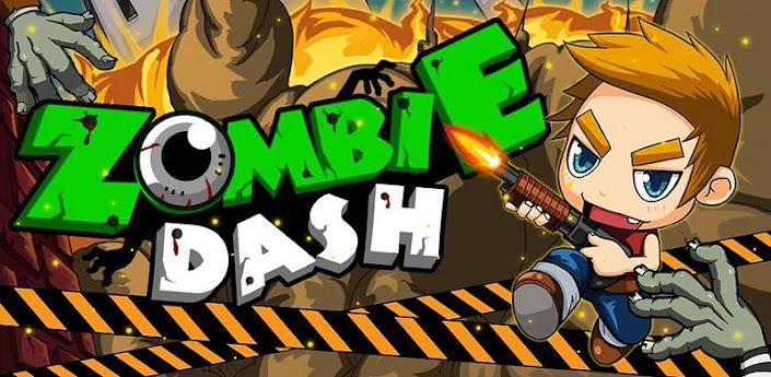 Imagen baner de la aplicacion de juego Zombie Dash