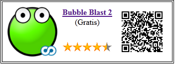 Ficha de la aplicación de juego bubble blast 2