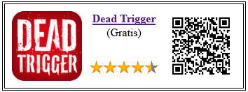 Ficha de la aplicación de juego dead trigger