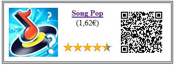 Ficha de la aplicación de juego Song Pop Premium