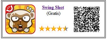 Ficha de la aplicación de juego Swing Shot