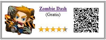 Ficha de la aplicación de juego zombie dash
