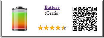 Ficha de la aplicación de servicio Battery