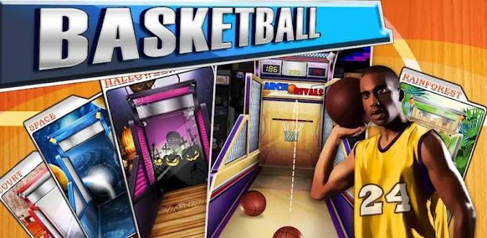 Imagen baner de la aplicacion de juego basketball mania