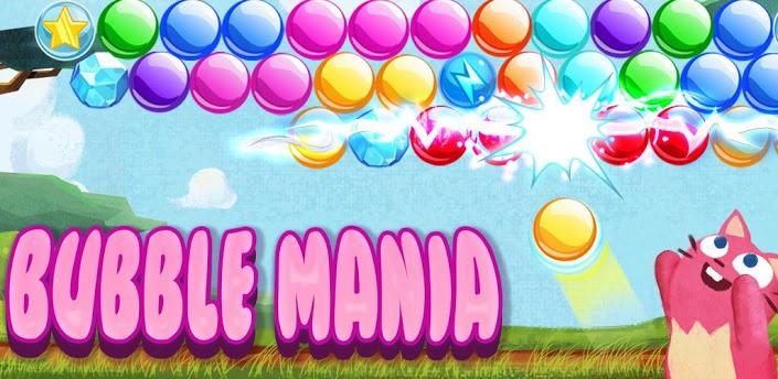 Imagen baner de la aplicacion de juego Bubble Mania