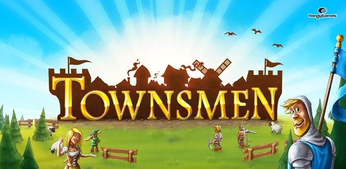 Imagen baner de la aplicacion de juego Townsmen