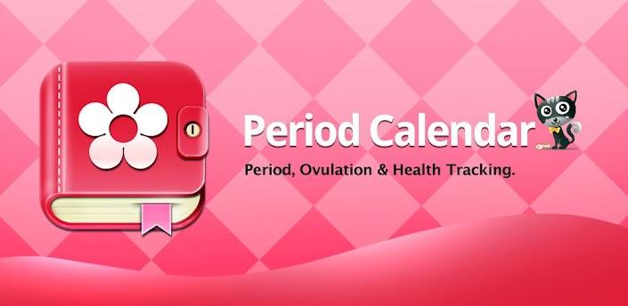 Imagen baner de la aplicacion de salud period calendar