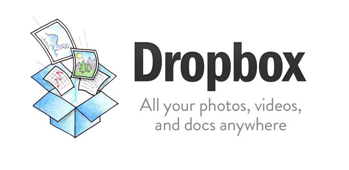 Imagen baner de la aplicacion de servicio Dropbox