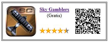 Ficha de la aplicación de juego Sky Gamblers