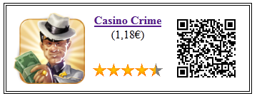 Ficha de la aplicación de juego Casino Crime pago