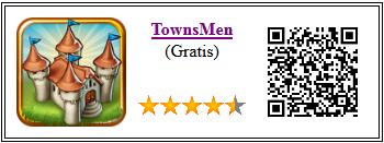Ficha de la aplicación de juego Townsmen gratis