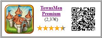 Ficha de la aplicación de juego Townsmen pago