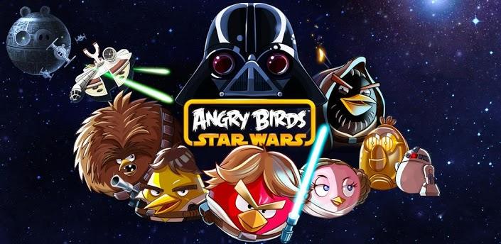 Imagen baner de la aplicacion de juego Angry Birds Star Wars