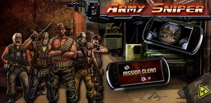 Imagen baner de la aplicacion de juego Francotirador Army Sniper