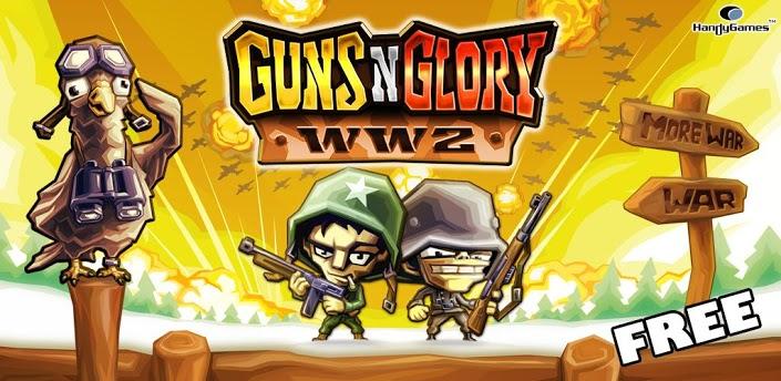 Imagen baner de la aplicacion de juego Guns n Glory WW2
