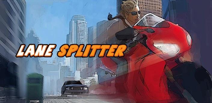 Imagen baner de la aplicacion de juego Lane Splitter