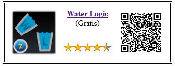 Ficha qr de aplicacion de juego Water Logic