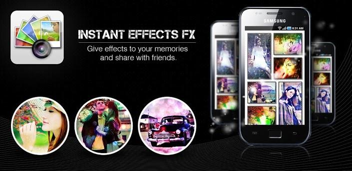 Imagen baner de la aplicacion de Fotografia Instant Effects FX