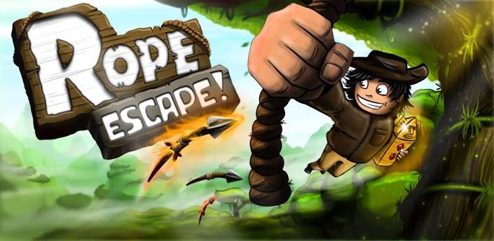 Imagen baner de la aplicacion de juego Rope Escape