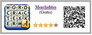 Ficha qr de aplicacion de juego Mezcladitos Gratis