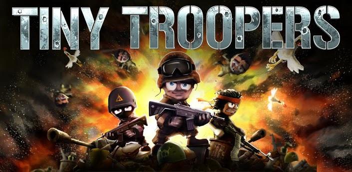 Imagen baner de la aplicacion de juego Tiny Troopers