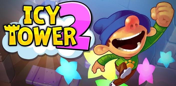 Imagen baner de la aplicacion de juego Icy Tower 2