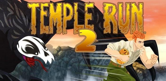 Imagen baner de la aplicacion de juego Temple Run 2
