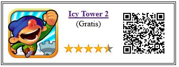 Ficha qr de aplicacion de juego Icy Tower 2